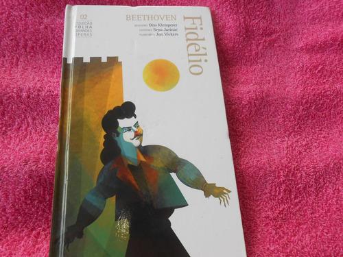 fidélio beethoven coleção folha vol. 2  livro e 2 cds oferta