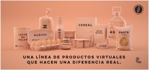 fideos banco de alimentos- productos virtuales donación real