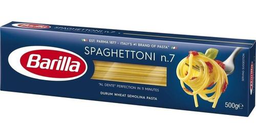 fideos italianos pasta barilla spaghettoni 500g env gra caba