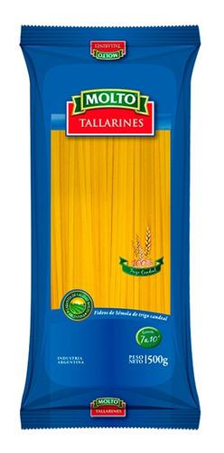 fideos molto tallarines spaghetti 500g semola trigo candeal