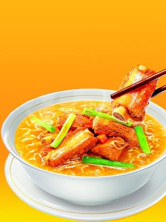 fideos ramen con costillas asadas | colossal bowl asia deli