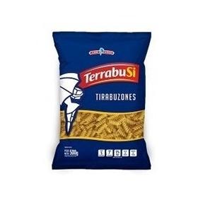 Fideos Terrabusi Tirabuzon Bulto De 15 Paquetes X 500 Gr