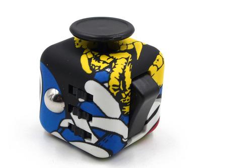 fidget cube cubo anti estres reduce ansiedad original