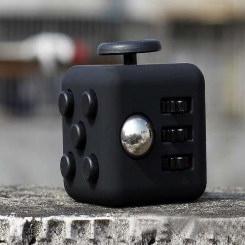 fidget cube cubo anti estress tamaño grande
