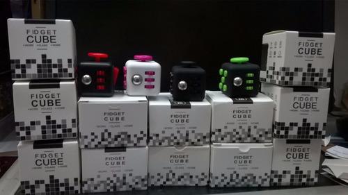 fidget cube - cubo antistress/ansiedad¡todos lo quieren !