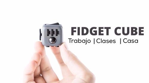 fidget cube , cubo dado anti estres anciedad spinner