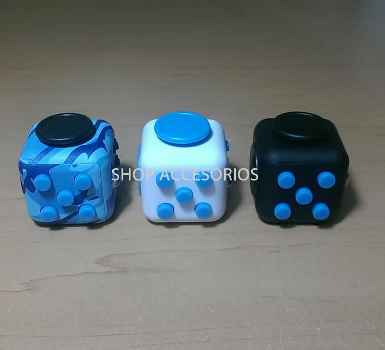 fidget cube original antiestres ansiedad enfoque envio. Black Bedroom Furniture Sets. Home Design Ideas