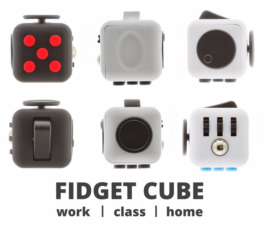 fidget cube original colores estuche y env o gratis. Black Bedroom Furniture Sets. Home Design Ideas