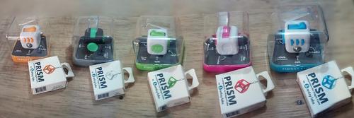 fidget cube original cubo anti-ansiedad + llavero protector