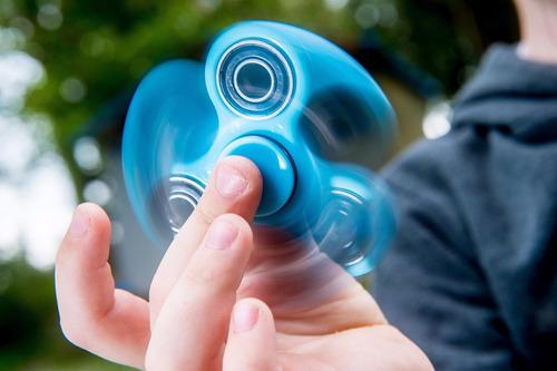 fidget hand spinner anti estrés relajante juguete