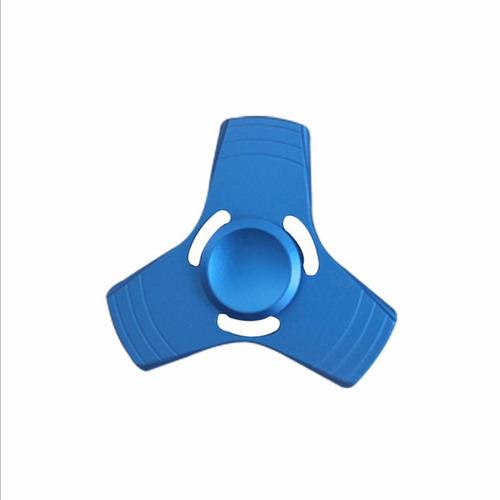 fidget spinner aluminio metálico antiestres envio gratis
