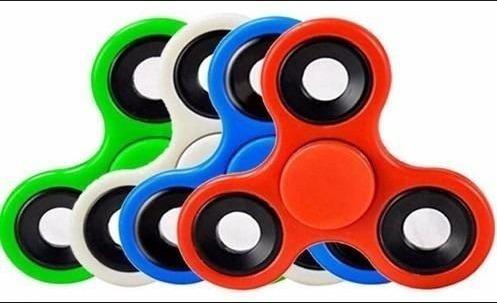 fidget spinner anti estres varios colores oferta