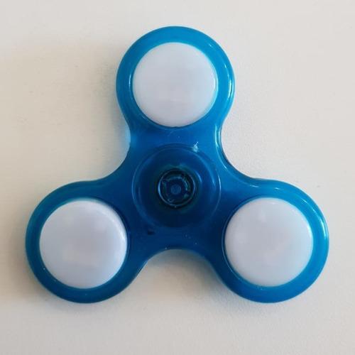 fidget spinner con luz varios modelos juguete anti stress