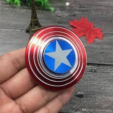 fidget spinner escudo capitán américa mas calidad mas giros