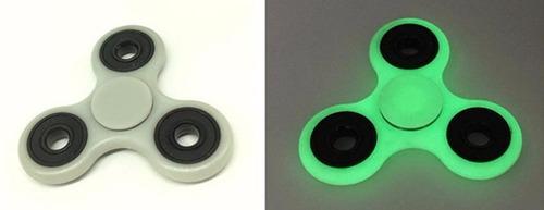 fidget spinner hand brilla en oscuridad antietrés importado