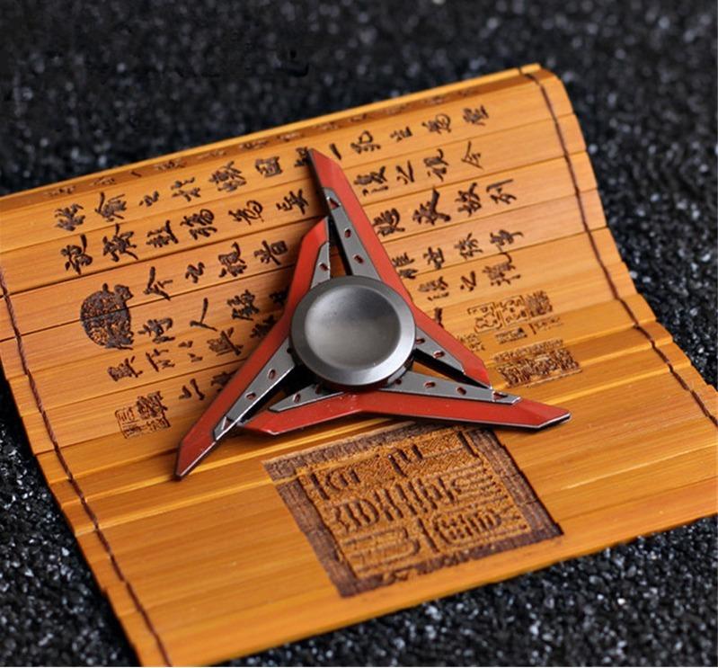 Fidget Spinner Hand Lol Shadow Master Zed Shuriken Raro Star R 69