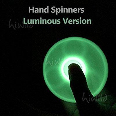 fidget spinner luminoso  a1. brilla noche . oferta