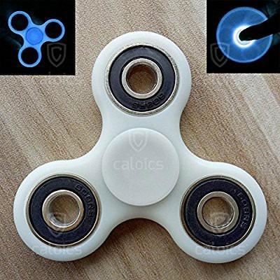 fidget spinner  luminoso - azul - venta x mayor y menor