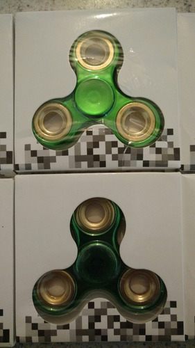 fidget spinner metálico. envío incluido
