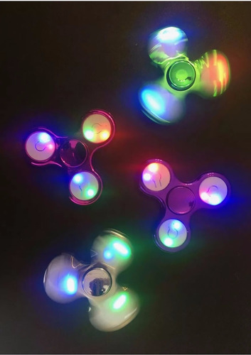 fidget spinner original - modelo nuevo con 9 luces led
