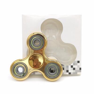 fidget spinner varios colores efecto 3d - fair play toys