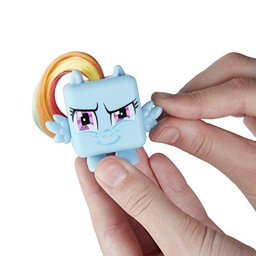 fidget su mlp rainbow dash cubeta figura acción