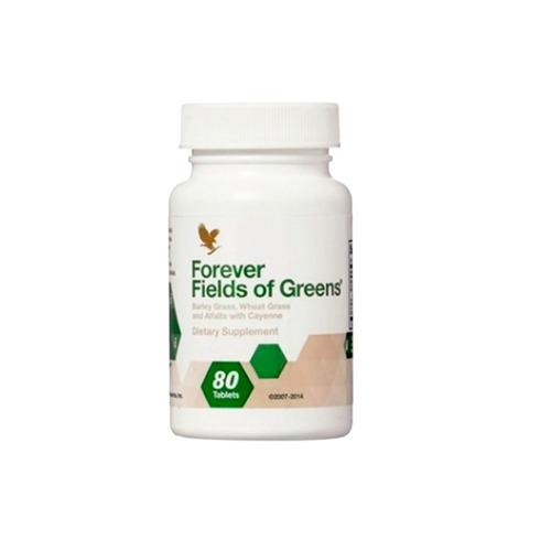 fields of greens fibras verdes organica forever living 80cap