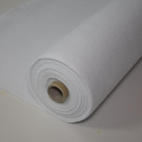 fieltro blanco rollo 10 metros