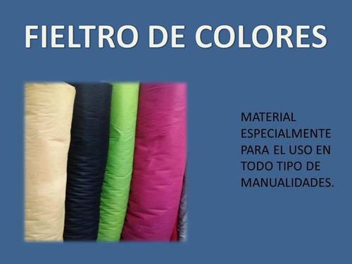 fieltro de colores  (tienda fisica)