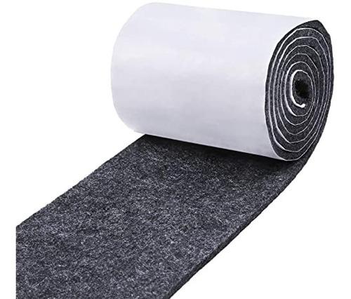 fieltro gris topetina felpa 5 cm x 5 mts adhesivo trigama