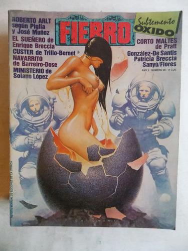fierro nº 28 historieta comic argentina, ed. la urraca