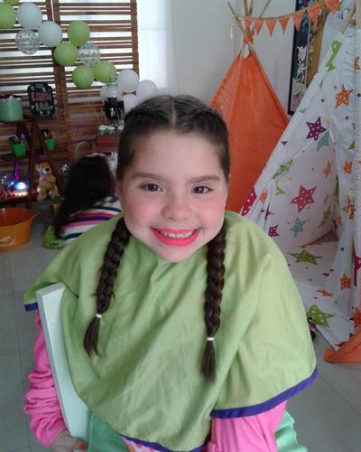 fiesta a domicilio teepees/ spa de niñas / chefs / mini spa