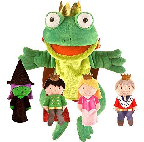 fiesta artesanía princesa y la rana prince hand