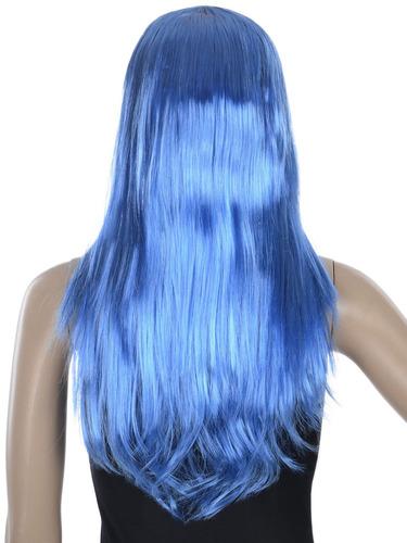 fiesta de disfraces de halloween cosplay peluca... (blue)