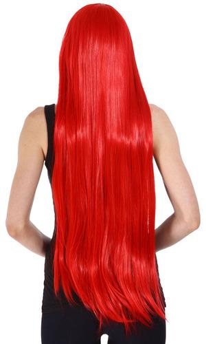 fiesta de disfraces de halloween cosplay peluca... (red)