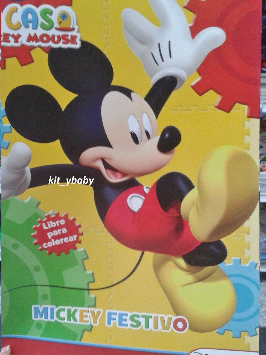 Atractivo Libros Para Colorear De Mickey Mouse Ornamento - Dibujos ...