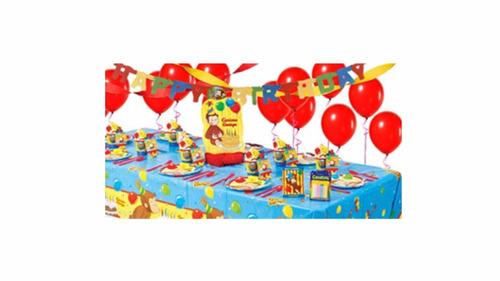 fiesta / decoración / piñata completa de jorge el curioso