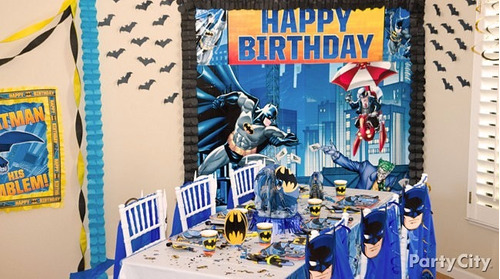 fiesta / decoración / piñata de batman