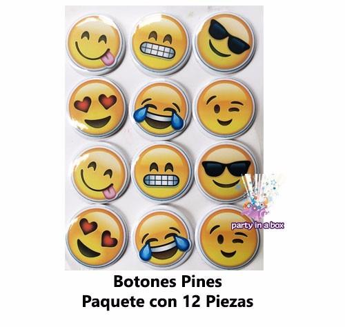 fiesta emojis caritas platos vasos globos cajitas bolo