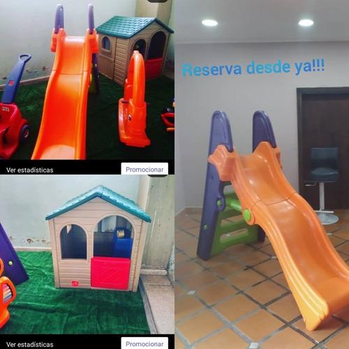 fiesta en casa parque infantil
