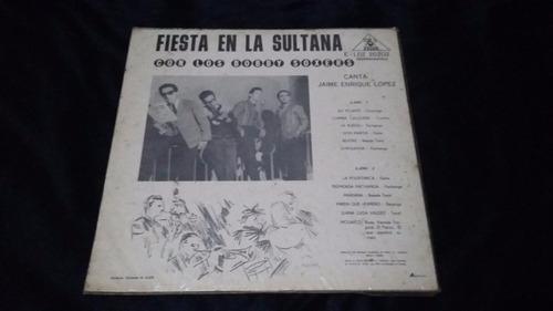 fiesta en la sultana bobby soxers lp vinilo salsa cumbia