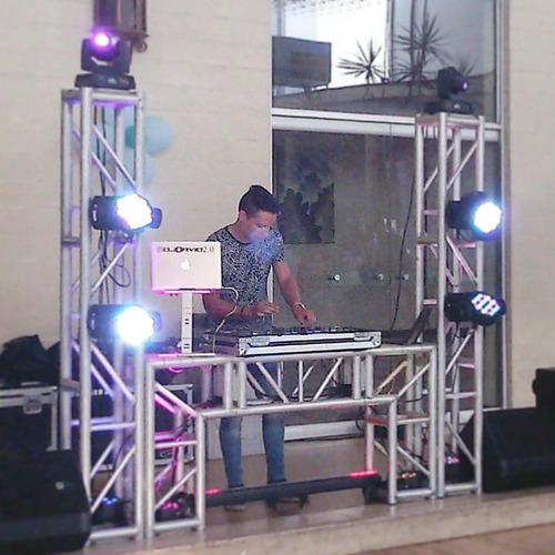 fiesta evento sonido iluminación