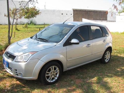 fiesta flex 1.0 prata 2010 completo + rodas