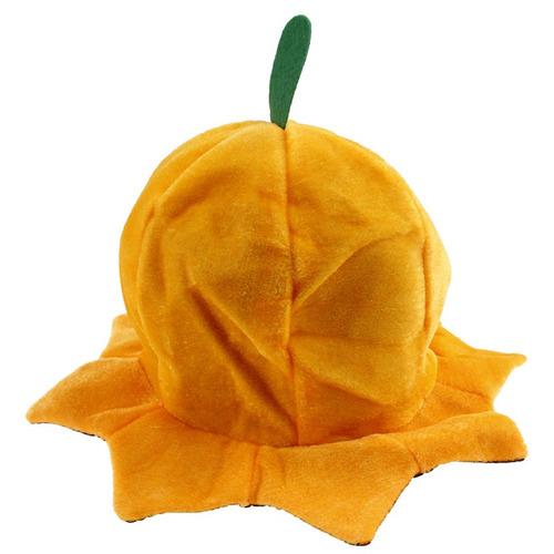 Fiesta Halloween Sombrero Felpa Calabaza -   530.00 en Mercado Libre 3f4c885ad8a