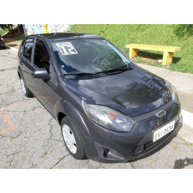 Fiesta Hatch 1.0 S - 2012 - Direcao - Cinza