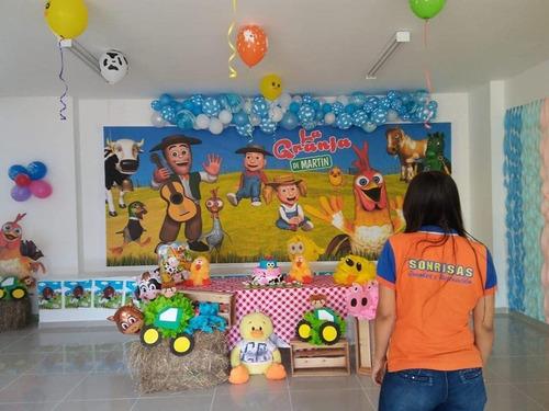 fiesta infantil, animación,