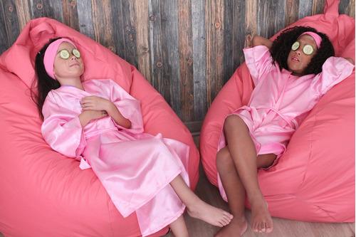 fiesta mini spa gema's para niñas a domicilio para 15 niñas