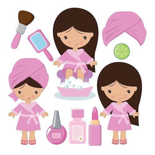 fiesta mini spa para niñas