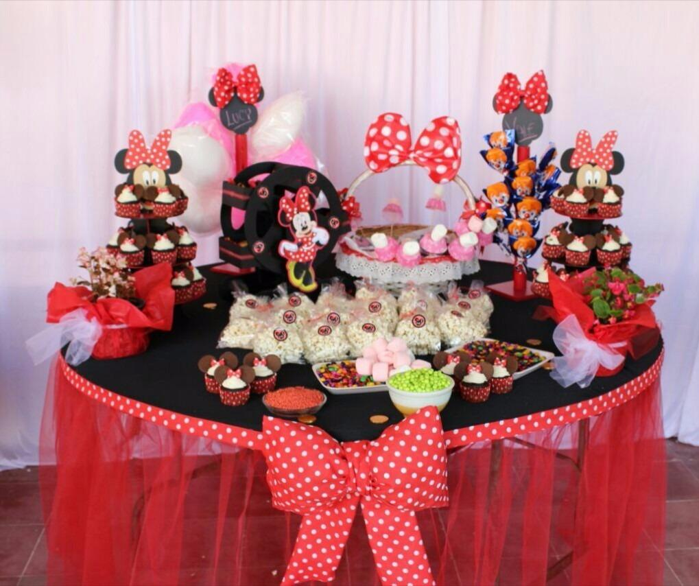 Fiesta Minnie Mouse 1 200 00 En Mercado Libre