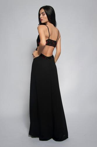 fiesta mujer, vestido largo